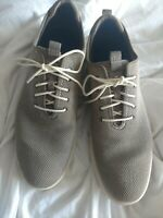 Cole haan grand os Size 13 Worn 2 Times Gray men's sneakers with the box.