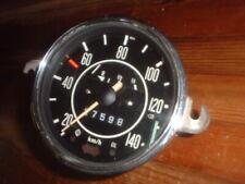 ORIGINAL EARLY 1970S  VW BEETLE FACTORY KM/H SPEEDO GAUGE, KARMANN,EMPI,CAL LOOK