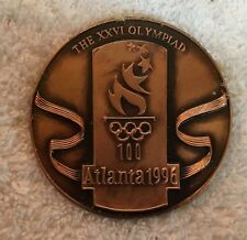 1996 Atlanta Belarus Team Athlete's Olympic Participation Medal in Box
