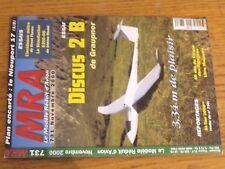 $$$ Revue MRA N°731 Plan encarte Nieuport 17Discus 2 BStaudacherS300-GS