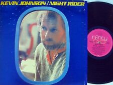 Kevin Johnson ORIG OZ LP Night rider NM '80 Folk Rock Infinity L37530