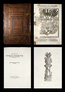 1541 MELANCHTON Opera 1ST ED AUGSBURG CONFESSION Protestant REFORMATION Ethics