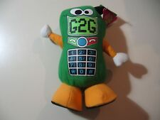 """10"""" plush Cell Phone, good condition, with factory tag"""