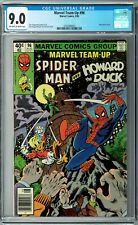 Marvel Team-Up #96 CGC 9.0 (Aug 1980, Marvel) Spider-Man and Howard the Duck