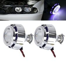 2 PCS 2.5 inch Universial 12V Bi-Xenon Projector Lens Headlight Kit with Exquisi