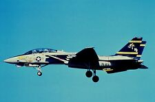 Duplicate colour slide F-14A Tomcat 162591/NJ-453 of VF-124 US Navy