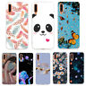 For Samsung Galaxy A70 A50 A40 A30 A20E Pattern Case Soft Slim Painted TPU Cover