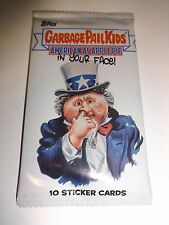 2016 Garbage Pail Kids American as Apple Pie In Your Face Unopened Sticker Pack