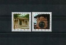 Portuguese MACAO MNH full set #440-1 1976 2 stamps Pagodas Macau temples
