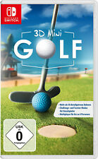 3D Mini Golf - Nintendo Switch (NEU & OVP!)