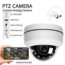 4in1 Motorized PTZ Dome 4x zoom IR Night Vision Pan Tilt Moving CCTV Camera AHD