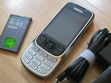 Nokia 6303i classic - steel / ohne Simlock / mit Folie / TOPP