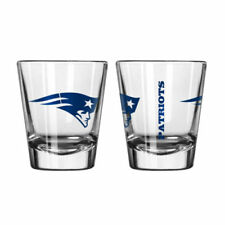 New England Patriots Game Day Logo Shot Glass NEW