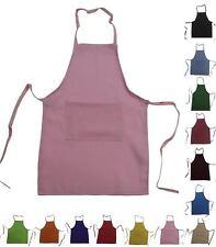 Set of 20 Kids Children Chef Apron Real Fabric Medium fits 8-12 High Quality