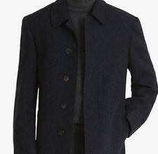 $700 RALPH LAUREN Mens BLUE WOOL OVERCOAT PEACOAT TRENCH COAT JACKET WINTER 42 S