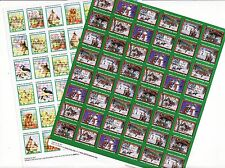 2014 U.S. Christmas Seals & U.S Spring Charity Seals Sheet Collection
