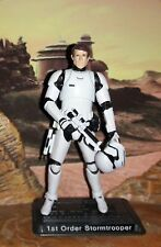 "Star Wars CUSTOM Black Series 1st Order Stormtrooper 4"" fig. w/Removable helmet."