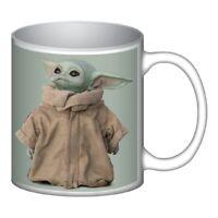 Star Wars Grogu Good Side 12 oz Ceramic Mug Baby Yoda Child The Mandalorian Gift
