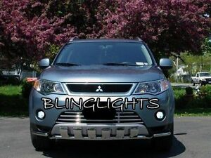 Halo Foglamps Drivinglight Kit + Harness for 2007 2008 2009 Mitsubishi Outlander