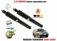 FOR NISSAN TERRANO 4WD 4x4 2 1987-2007 NEW 2X FRONT SHOCK ABSORBER SHOCKER SET