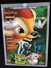 Walt Disney Diamond Edition Bambi Blue-ray DVD SET Limited Ed. NEW NIP SEALED