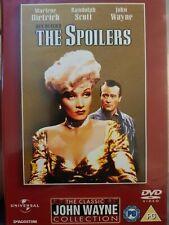 The Spoilers-John Wayne Marlene Dietrich(R2 DVD)New+Sealed Randolph Scott 1942