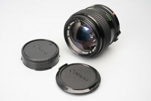 Canon New FD nFD 50mm f/1.2 f1.2 Manual Focus Prime Lens, For Canon FD Mount #