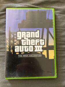 Grand Theft Auto 3 GTA 3 Xbox Complet version française