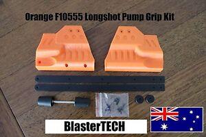 Worker / F10555 Longshot Pump Grip Kit for Nerf Blaster (Orange)