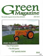 John Deere Green Magazine July 2010 Featured Models GP & R Tractors