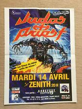 poster JUDAS PRIEST concert 14 avril paris - verso SOULFLY - dim  55,5X41cm
