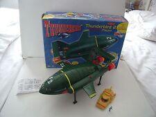 LARGE THUNDERBIRDS 2 ELECTRONIC PLAYSET + TB4 + FIGURE  - BOXED   1999 VINTAGE