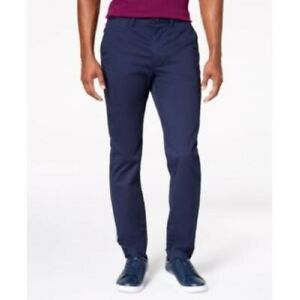 Lacoste Men's Regular-Fit Cotton Chino Pants, Blue, Size 40 x 34, $90, NwT