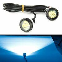 2X 12V 15W Eagle Eye LED Daytime Running DRL Backup Light Car Auto Lamp Ice Blue