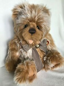 """CHARLIE BEAR """"Paddywack"""" Designed by Isabelle Lee 16 inches"""