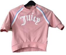 Girls Black Label JUICY Sweatshirt, Age 10/11, Peach
