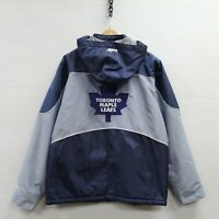Vintage Toronto Maple Leafs Puma Full Zip Insulated Jacket Size Medium NHL