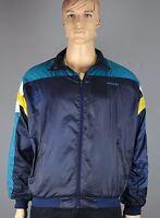 Orginal 80er Jahre Adidas-Vintage Sportjacke Ballonjacke - Size: L     (wj03)