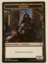 MTG X1: Assassin Token, Conspiracy: Take the Crown, C, LP - FREE US SHIPPING!