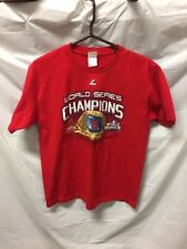 MLB St Louis Cardinals World Series Champions Fall Classic 2011 Youth Sz XL