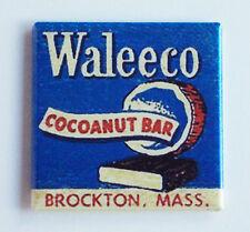Cocoanut Chocolate Bar FRIDGE MAGNET (2 x 2 inches) candy sign brockton, MA