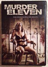 Murder Eleven The Countdown Has Begun (Prev. Viewed DVD, 2014)