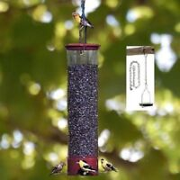 DROLL YANKEES YANKEE DIPPER SQUIRREL PROOF BIRDFEEDER PLUS FREE LOCKING CHAIN