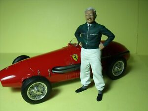 1/18 FIGURE  MIKE HAWTHORN  VROOM  PAINTED  FOR  CMC  SPARK  SCHUCO