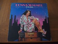 DONNA SUMMER ON THE RADIO Greatest Hits VINYL 2xLP 1979 Original NBLP-27191