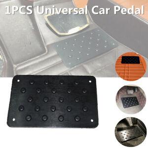 Car Mat Aluminum Pad Throttle Brake Clutch Pedal Foot Slip Wear-resistant Carpet