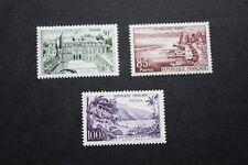 Série Touristique 1192 à 1194 de 1959  neufs**