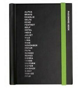 Little Black Book Of Passwords Small Notebook