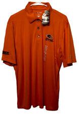 UTSA Roadrunners University of Texas San Antonio Orange Polo Shirt Mens Large