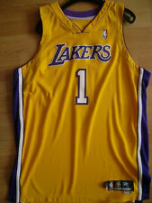 NBA Los Angeles Lakers Gold Home Gameworn Jersey Tikot 2005/2006 - Smush Parker